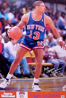 "Mark Jackson ""Sweet 13"" New York Knicks Poster - Marketcom/Sports Illustrated 1990"