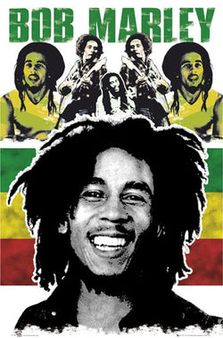 "Bob Marley ""Rasta Superstar"" Reggae Music Legend Poster - GB Eye"