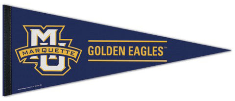 Marquette Golden Eagles Official NCAA Sports Team Logo Premium Felt Pennant - Wincraft Inc.