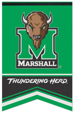 Marshall University Thundering Herd NCAA Team Premium Felt Banner - Wincraft Inc.