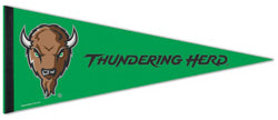 Marshall University Thundering Herd NCAA Sports Team Logo Premium Felt Pennant - Wincraft Inc.