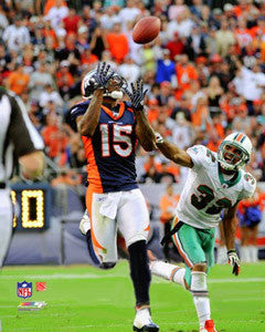 "Brandon Marshall ""Big Grab"" Denver Broncos Premium Poster Print - Photofile 16x20"