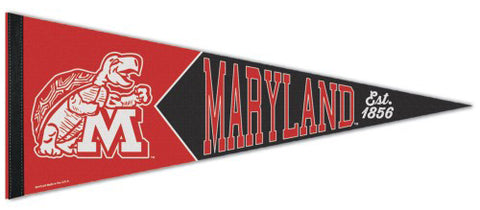 Maryland Terrapins NCAA College Vault 1970-Style Premium Felt Collector's Pennant - Wincraft Inc.