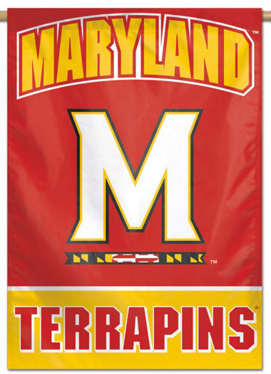 Maryland Terrapins Official NCAA Team Logo NCAA Premium 28x40 Wall Banner - Wincraft Inc.