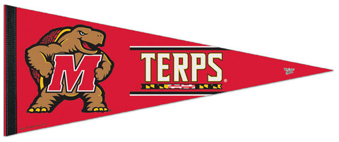 Maryland Terrapins Official NCAA Team Premium Felt Collector's Pennant - Wincraft Inc.