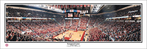 Maryland Terrapins Basketball Inaugural Game (2002) Panoramic Poster Print - Everlasting
