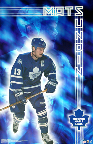 "Mats Sundin ""Shine"" Toronto Maple Leafs Poster - Starline 2002"