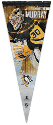 Matt Murray Pittsburgh Penguins Official NHL Hockey Premium Felt Collector's Pennant - Wincraft