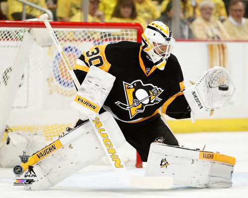 "Matt Murray ""Stone Wall"" (2016 Stanley Cup Finals) Pittsburgh Penguins Premium Poster - Photofile"