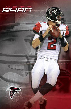 "Matt Ryan ""Falcon"" Atlanta Falcons NFL Poster - Costacos Sports 2008"