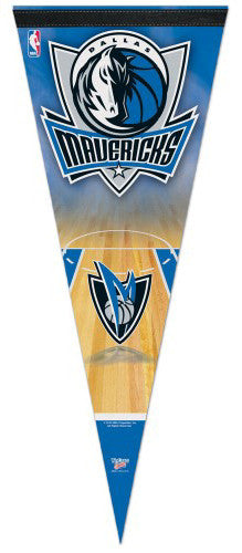 "Dallas Mavericks ""Dual-Logo"" Premium Felt Collector's Pennant - Wincraft"