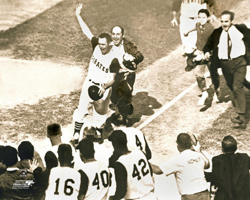 "Bill Mazeroski ""World Series Hero"" (1960) Pittsburgh Pirates Premium Poster Print - Photofile Inc."
