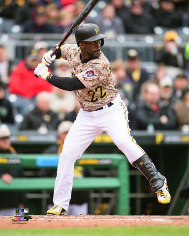 "Andrew McCutchen ""Camo Superstar"" Pittsburgh Pirates Premium Poster Print - Photofile 16x20"