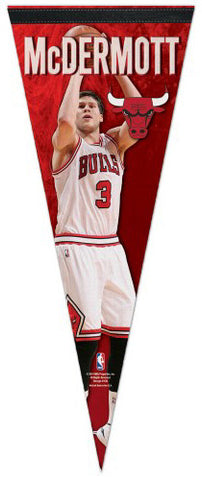 "Doug McDermott ""Superstar"" Chicago Bulls Premium Felt Collector's Pennant - Wincraft Inc."