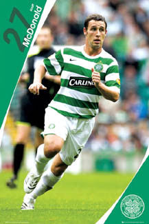 "Scott McDonald ""Superstar"" Glasgow Celtic FC Poster - GB 2007"