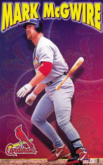 "Mark McGwire ""Gone Deep"" St. Louis Cardinals Poster - Starline 2000"