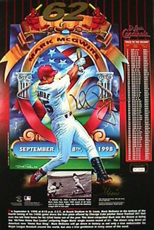 "McGwire/Maris ""62 Limited Edition"" - Victory Dream 1998"