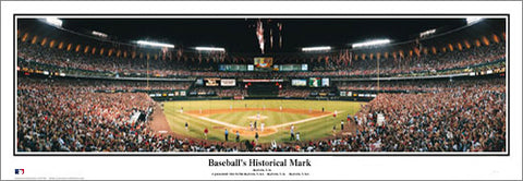"Busch Stadium 1998 ""Baseball's Historical Mark"" St. Louis Cardinals Panoramic Poster Print - Everlasting"