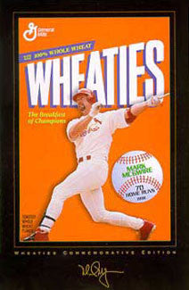 "Mark McGwire ""Wheaties"" - Costacos Gallery Edition 1999"