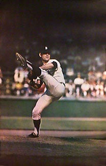 Denny McLain Detroit Tigers Sports Illustrated Action Poster - Major League Posters 1968