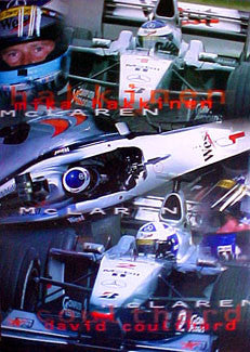 McLaren 2000 (Hakkinen, Coulthard) - UK 2000