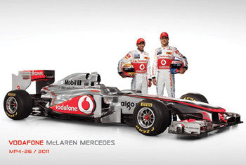 McLaren Mercedes MP4-26 2011 (Hamilton, Button) - Pyramid (UK)