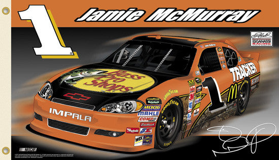 "Jamie McMurray ""J-Mac Nation"" 3'x5' Flag - BSI Products"