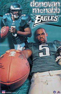 "Donovan McNabb ""Superstar"" Philadelphia Eagles QB Poster - Starline 2000"