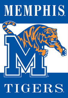 "Memphis Tigers ""Roaring Tom"" Banner - BSI Products"