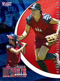 "Jessica Mendoza ""Action Star"" - USA Softball 2006"