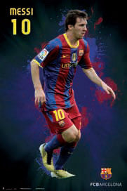 "Lionel Messi ""SuperAction"" FC Barcelona Poster - G.E (Spain)"