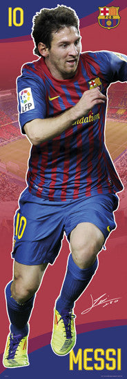 "Lionel Messi ""Big-Time"" DOOR-SIZED Action Poster - GB Eye 2011"