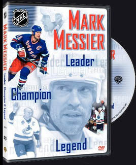 "DVD: ""Mark Messier: Leader, Champion, Legend"" - NHL 2005"