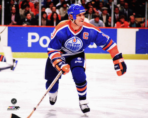 "Mark Messier ""Oilers Classic"" (c.1989) Premium Poster Print - Photofile Inc."