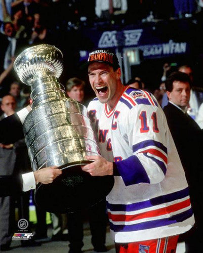 "Mark Messier ""Promised and Delivered"" (1994) New York Rangers Photofile Poster Print"