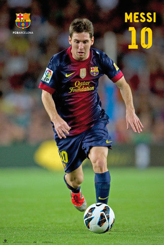 "Lionel Messi ""Superstar"" FC Barcelona Poster (2012/13) - G.E. (Spain)"