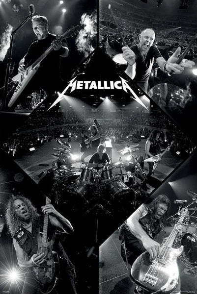 Metallica In Concert Metal Rock Band Official 24x36 Wall Poster - Pyramid America 2020
