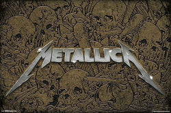 Metallica Metal Rock Band Official Logo Poster - Trends International
