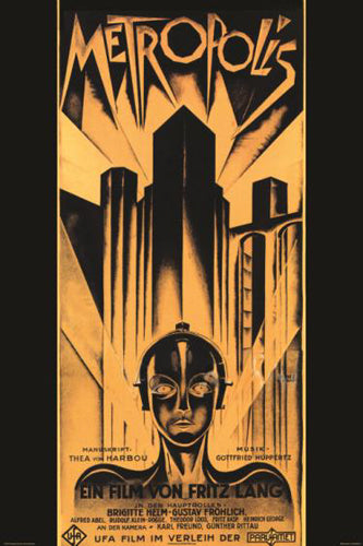 Fritz Lang's METROPOLIS (1927) Classic Movie Poster Reprint (24x36) - Image Source International