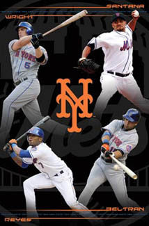 "New York Mets ""4-Stars"" (2008) - Costacos Sports"