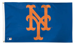 New York Mets Official MLB Baseball Deluxe-Edition Premium 3'x5' Flag - Wincraft Inc.