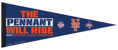 New York Mets 2015 National League Champions Commemorative Premium Felt Pennant - Wincraft