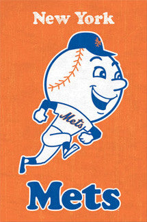 New York Mets Retro-Style (1963-70) Poster - Costacos Sports