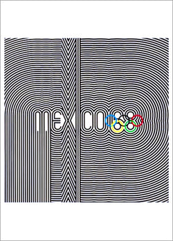 Mexico City 1968 Summer Olympic Games Official Poster Reprint - Olympic Museum