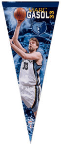 "Marc Gasol ""Superstar"" Premium Felt Collector's Pennant (LE /1000) - Wincraft"