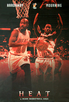"Miami Heat ""Basketball Saga"" (Tim Hardaway, Alonzo Mourning) - Costacos 1996"