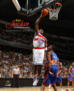 "Michael Jordan ""Last Home Game"" April 14, 2003 Premium Poster Print - Photofile"