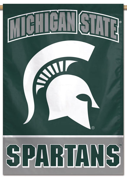 Michigan State Spartans Official NCAA Team Logo NCAA Premium 28x40 Wall Banner - Wincraft Inc.