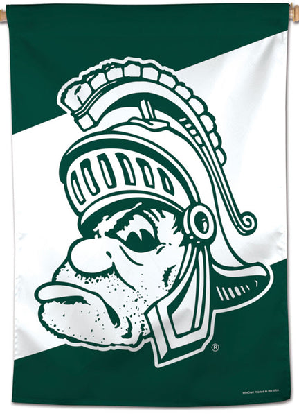 "Michigan State Spartans ""Sparty Classic"" Official NCAA Premium 28x40 Wall Banner - Wincraft Inc."