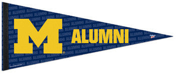 University of Michigan Alumni Premium Felt Pennant - Wincraft